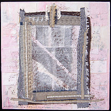 St. Pete Window 5 by Natalya Khorover Aikens (Fiber Wall Hanging)