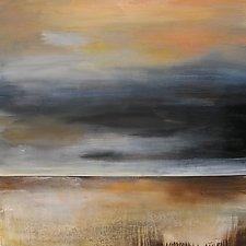 Breaking Through by Karen  Hale (Acrylic Painting)