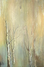 Birch Trees by Karen  Hale (Acrylic Painting)