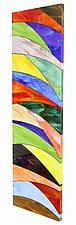 Blowing in the Wind by Gerald Davidson (Art Glass Wall Sculpture)