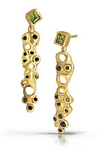 Deconstructed Deco Post by Shauna Burke (Gold & Stone Earrings)
