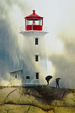 Stormy Light by Melinda Moore (Color Photograph)