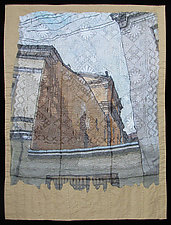 Walls Between Neighbors by Natalya Khorover Aikens (Fiber Wall Hanging)