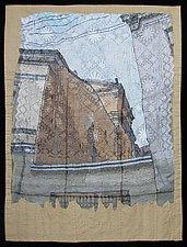 Walls Between Neighbors by Natalya Khorover Aikens (Fiber Wall Hanging)
