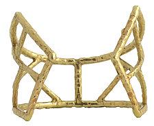 Carmen Cuff by Susan Crow (Bronze Bracelet)