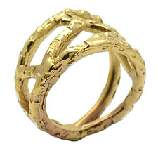 Cell Ring by Susan Crow (Bronze RIng)