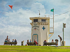 A Day At The Beach (Large) by Melinda Moore (Color Photograph)