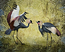 Zen Cranes by Melinda Moore (Color Photograph)