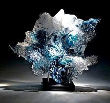 Silhouette by Caleb Nichols (Art Glass Sculpture)