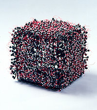Red, White, and Black by Nancy Koenigsberg (Metal Sculpture)