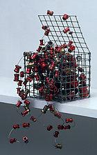 Boeing Box by Nancy Koenigsberg (Metal Sculpture)