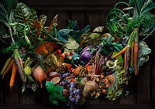 Farmers' Market Festoon by Lisa A. Frank (Color Photograph)