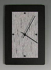 Wall Clock by Linda Lamore (Painted Metal Clock)