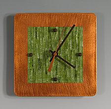 Mini Shelf Clock by Linda Lamore (Painted Clock)