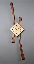 Stretch Clock by Steve Uren (Wood Clock)