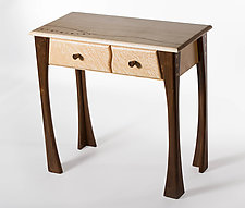 Side Table with Drawers by Steve Uren (Wood Side Table)