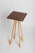 Auguste Table by Steve Uren (Wood Side Table)