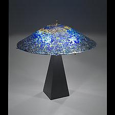 Starlight Starbright Lamp by Ernest Porcelli (Art Glass Table Lamp)