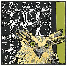 Asian Fishing Owl by Barbara  Stikker (Giclee Print)