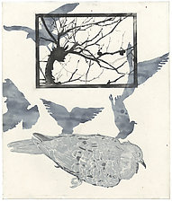 La Paloma by Barbara  Stikker (Etching)