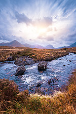 Three Sisters Landscape I by Matt Anderson (Color Photograph)