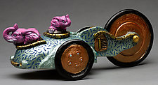 Hazel and Gertrude by Byron Williamson (Ceramic Sculpture)