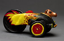 Camel Racer by Byron Williamson (Ceramic Sculpture)
