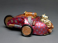 Low Rider by Byron Williamson (Ceramic Sculpture)