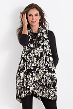 Floral Verona Tunic by Comfy USA  (Woven Tunic)