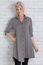 Lexi Shirt by Comfy USA  (Woven Tunic)