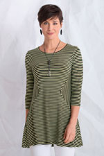 Diamond Tunic by Comfy USA  (Knit Tunic)