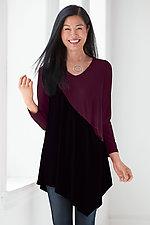 Colorblock Deborah Tunic by Comfy USA  (Knit Tunic)