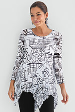 Concord Mesh Tunic by Comfy USA  (Knit Top)
