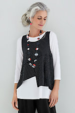 Mandy Topper and Tee by Comfy USA  (Knit Top)