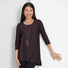 Madison Tee by Comfy USA  (Knit Top)
