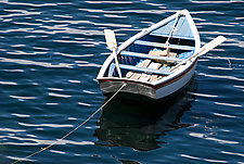 Rowboat by Cindy A. Stephens (Color Photograph)