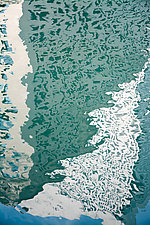 Water Geometry by Cindy A. Stephens (Color Photograph)
