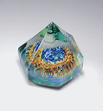 Sea Crystals by Jeremy Sinkus (Art Glass Paperweight)