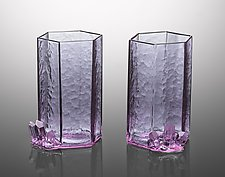 Amethyst Crystal Glass by Jeremy Sinkus (Art Glass Drinkware)