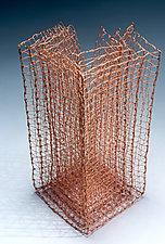 Cleft by Nancy Koenigsberg (Metal Sculpture)