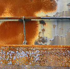 Rust and Rope by Russ Martin (Color Photograph)