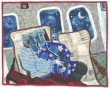 Transatlantic by Pamela Allen (Fiber Wall Hanging)