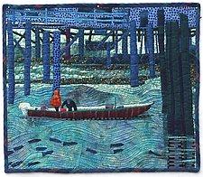 Fisherman's Wharf by Pamela Allen (Fiber Wall Art)