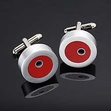 Olicook Cuff Link by Melissa Stiles (Resin Cuff Links)