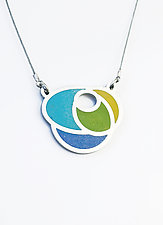 Rose Necklace by Melissa Stiles (Resin Necklace)