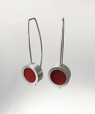 Small Dot Earrings by Melissa Stiles (Resin Earrings)