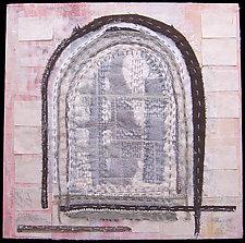 St Pete Window 2 by Natalya Aikens (Fiber Wall Hanging)