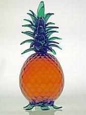 Pineapple Luminary by Furnace Urbini  (Art Glass Lamp)