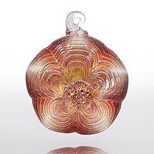 Sugar Magnolia by Julian Duerksen (Art Glass Ornament)