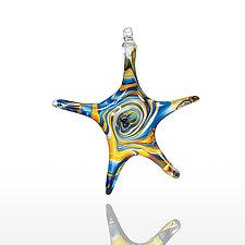 Starstruck by Mariel Waddell and Alexi Hunter (Art Glass Ornament)